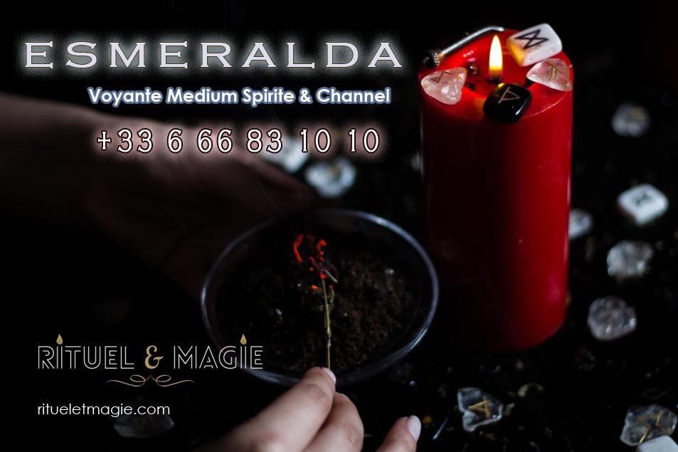 Rituel chance Esmeralda médium