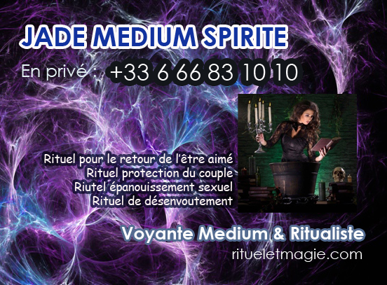 Médium spirite Jade