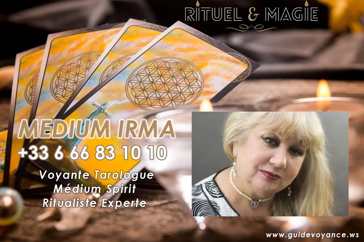 Médium irma rituel et magie