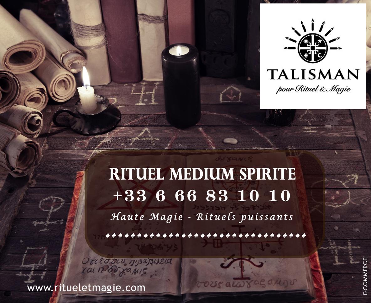 Médium ritualiste spirite