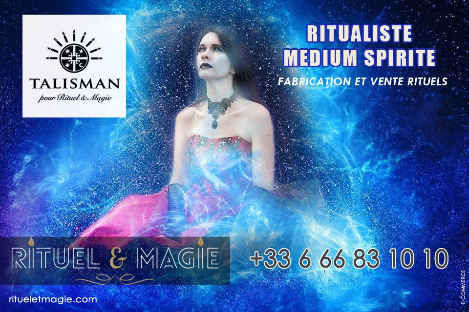 Ritualiste médium spirite