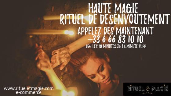 Expérimenter un rituel de désenvoutement avec Rituel&Magie